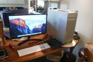 Mac Pro 2x 2.8 8 Core System For Sale With 6 gig Nvida video