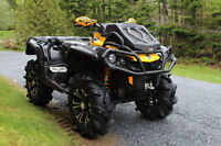 2015 Can-Am Outlander XMR 1000 Yellow/Black