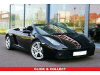 2008 Lamborghini Gallardo 5.0 V10 SPYDER 2d 513 BHP Auto Convertible Petrol Auto