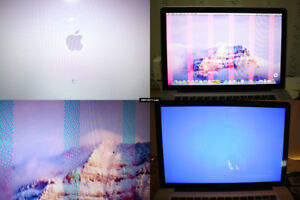 """MacbookPro 2011 15""""&17"""" Repair Service 4 the FAILED GRAPHIC CARD"""