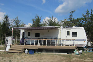 Trailer for rent on the shores of beautiful Bay of Quinte