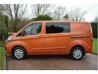 2019 Ford Transit Custom 300 Limited Dciv L1 H1 Crew Van Diesel Manual