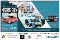 Discovery Ford Charity  Mustang Show,  Food Truck too June 23rd