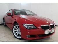 2009 09 BMW 6 SERIES 3.0 635D SPORT 2DR AUTOMATIC 282 BHP DIESEL