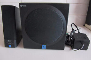 YAMAHA SPEAKERS STEREO MAX 100W IMPEDANCE 6 OHMS NOMINAL INPUT 3