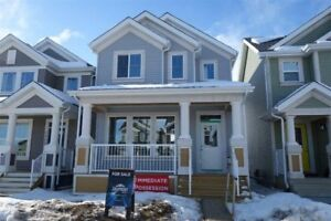 Immediate Possession New Single Family Lake Summerside
