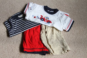 red, white and blue summer set