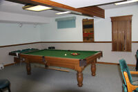 Pool Table (Slate) and Accessories
