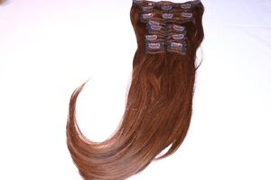 Real Human Remy Hair - 2 Tone Brown