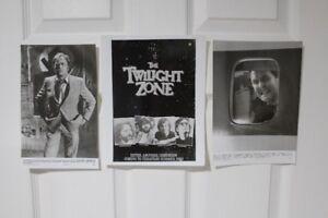 Twilight Zone Movie production poster/photos