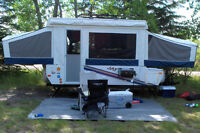 10' Jayco Jay Series 1008 pop up tent trailer