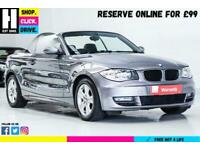 2008 BMW 1 Series 2.0 120d SE 2dr Convertible Diesel Automatic