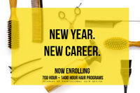 START YOUR CAREER IN HAIR IN THE NEW YEAR - NOW ENROLLING
