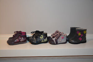 Girls Shoes & Boots - SIZE 4