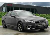 2019 Audi A4 S line 40 TFSI 190 PS S tronic Auto Saloon Petrol Automatic