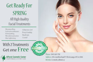 Facial Treatments Spring offer