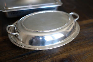 Silver serving Plate
