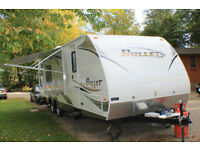 KEYSTONE BULLET ULTRA LITE 32 AMERICAN CARAVAN TOURER TRAVEL TRAILER 6 BERTH