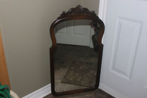 Antique Mirror in Excellent Condition (carved detailing)