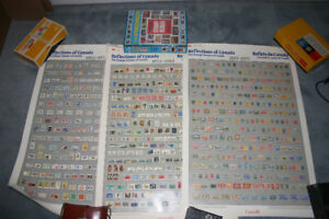 3 Old Posters of Stamps