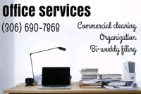 Commercial cleaning and organizing