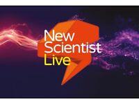 New Scientist Live VIP Tickets 4 Days 2 Pax