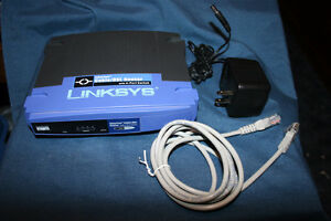 Linksys Cisco EtherFast Cable/DSL Router w/4 port switch BEFSR41