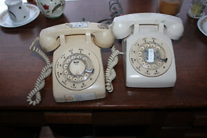 old rotary style phones