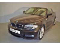2011 BMW 1 SERIES 118D M SPORT CONVERTIBLE DIESEL