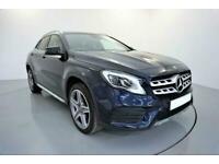 2018 BLUE MERCEDES GLA200 1.6 AMG LINE PREMIUM PLUS AUTO CAR FINANCE FR £337 PCM
