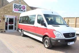 2011 MERCEDES SPRINTER 316 CDI 163 TRAVELINER LWB 15 SEAT BUS HIGH ROOF MINIBUS