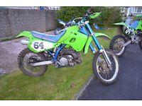 Kawasaki 250 K D X motocross scrambler off roader