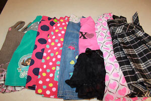 Eight little Girl Dresses, size 18 and 18-24 months