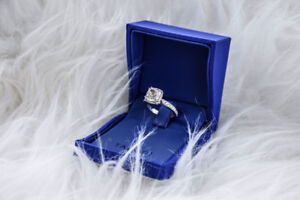 Custom Tacori Engagement & Wedding Set
