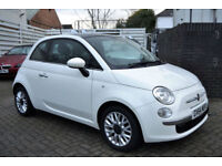 Fiat 500 0.9 ( 85bhp ) TwinAir ( s/s ) 2015 LOUNGE, 35K MILES, 1 OWNER, FSH