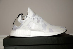 """Adidas NMD XR1 """"white duck camo"""" size 12"""
