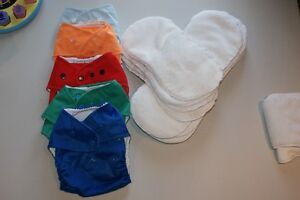 All in one, one size Baby Kanga cloth diapers