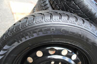 215/60/16 WINTER CLAW WINTER TIRES on RIMS 5x114.3mm