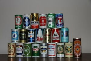 210 Beer Can Collection