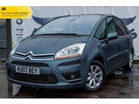 2007 CITROEN C4 PICASSO 1.6 EXCLUSIVE HDI DIESEL 5STR EGS GLASS PANORAMIC ROOF B