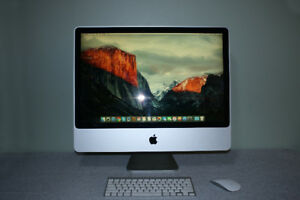 "Apple iMac 24"" in Excellent Condition with Upgrades"