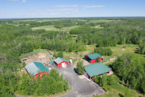 Hobby Ranch-Elk Island Park, AB-Unreserved Public Auction