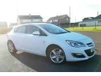 2013 13 Vauxhall Astra 1.4i VVT Turbo SRi 5 DOOR MANUAL PETROL
