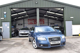 2007 Audi A6 Saloon 2.0TDI MANUAL DIESEL BLUE S Line NEW MOT