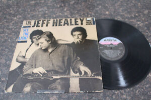 1988 THE JEFF HEALEY BAND. SEE THE LIGHT LP CANADA. RARE.
