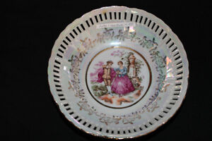 Rose Luster Plate