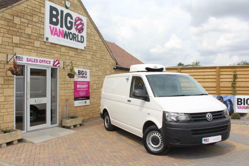 2013 VOLKSWAGEN TRANSPORTER T30 TDI 102 STARTLINE SWB LOW ROOF FRIDGE/FREEZER WI