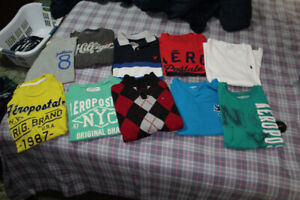 boy t-shirts and sweater 12-14y (Polo, Ralph Lauren etc)