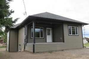 Brand new quality starter/down sizer home in downtown Vanderhoof