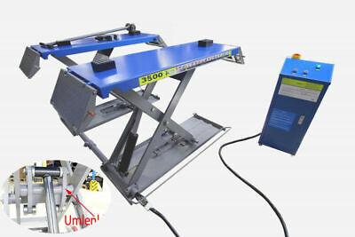 Mobile Scherenhebebühne 230 V 3,5t mit Umlenkhilfe Entriegelung elektronisch - Hebebühne